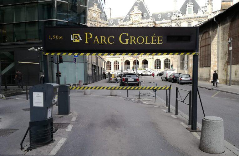 Parking LPA - Grôlée
